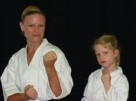 Sensei Natalie Penny and her Daughter, Lexie